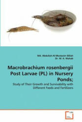 Macrobrachium Rosenbergii Post Larvae (PL) in Nursery Ponds; - Md. Abdullah-Al-Mustasim Billah, M. A. Wahab (ISBN: 9783639380187)