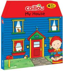 Caillou, My House - Chouette Publishing, Pierre Brignaud (ISBN: 9782897182243)