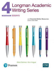 Longman Academic Writing Series 4 Interactive Student Book - Alice Oshima, Ann Hogue (ISBN: 9780134279756)