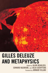 Gilles Deleuze and Metaphysics (ISBN: 9781498508674)