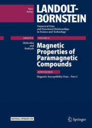 Magnetic Properties of Paramagnetic Compounds - Pushpa Pardasani (ISBN: 9783662459713)