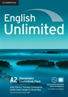 English Unlimited Elementary Coursebook with e-Portfolio and Online Workbook Pack (ISBN: 9781107677456)