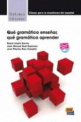 Que Gramatica Ensenar (ISBN: 9788498482409)