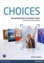 Choices Pre-intermediate Teacher's Book & Multi-ROM Pack (ISBN: 9781408289792)