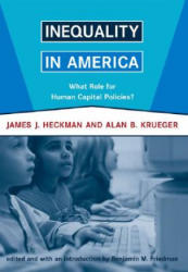 Inequality in America - What Role for Human Capital Policies? (ISBN: 9780262582605)