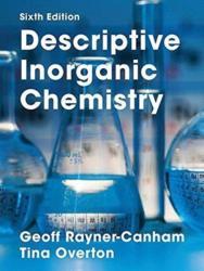 DESCRIPTIVE INORGANIC CHEMISTRY (ISBN: 9781319154110)