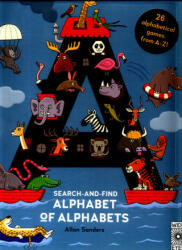 Search and Find Alphabet of Alphabets (ISBN: 9781786030016)