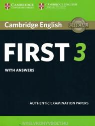 Cambridge English First 3 Student's Book with Answers (ISBN: 9781108433730)