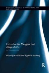 Cross-Border Mergers and Acquisitions - UK Dimensions (ISBN: 9781138616974)