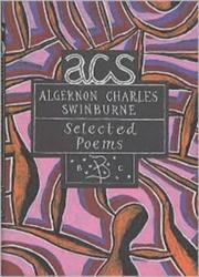 Algernon Charles Swinburne (ISBN: 9780747546917)