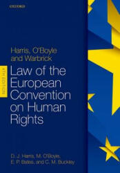Harris, O'Boyle, and Warbrick: Law of the European Convention on Human Rights (ISBN: 9780198785163)