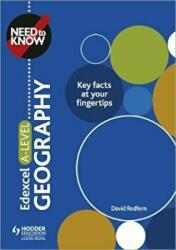 Need to Know: Edexcel A-level Geography (ISBN: 9781510428515)