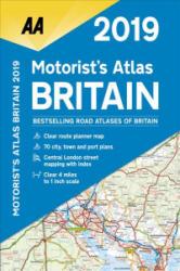 AA Motorist's Atlas Britain 2019 (ISBN: 9780749579562)