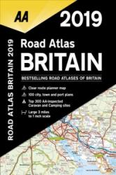 AA Road Atlas Britain 2019 (ISBN: 9780749579579)