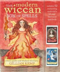 Modern Wiccan Box of Spells - Includes 52 Enchanting Cards and a 64-Page Illustrated Spell Book (ISBN: 9781782496601)