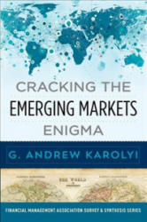 Cracking the Emerging Markets Enigma (ISBN: 9780190912314)
