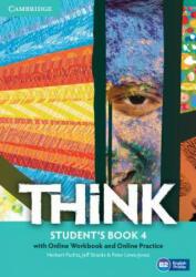 Think Level 4 Student's Book with Online Workbook and Online Practice - Herbert Puchta, Jeff Stranks, Peter Lewis-Jones (ISBN: 9781107573253)