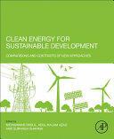 Clean Energy for Sustainable Development - Abul Azad (ISBN: 9780128054239)