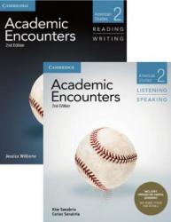Academic Encounters Level 2 2-Book Set (R&W Student's Book with WSI, L&S Student's Book with Integrated Digital Learning) - Williams, Jessica (University of Illinois, Chicago), Kim Sanabria, Carlos Sanabria (ISBN: 9781108573856)