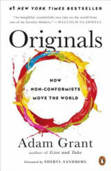 Originals: How Non-Conformists Move the World (ISBN: 9780143128854)