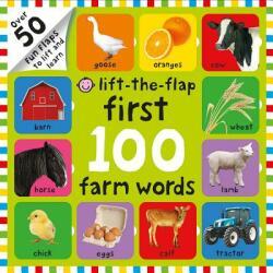 First 100 Lift The Flap Farm Words - Nicola Friggens, Robyn Newton, Amy Oliver (ISBN: 9780312520199)