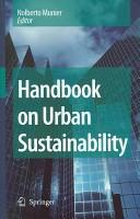 Handbook on Urban Sustainability (2006)