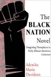 The Black Nation Novel: Imagining Homeplaces in Early African American Literature (ISBN: 9780883782811)