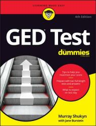 GED Test for Dummies 4e (ISBN: 9781119287209)