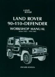 Land Rover 90/110 Defender Workshop Manual 1983 on (2006)