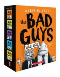 The Bad Guys Box Set: Books 1-5 (ISBN: 9781338267228)