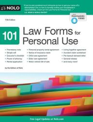 101 Law Forms for Personal Use (ISBN: 9781413323061)