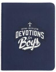 One-Min Devotions for Boys Lux-Leather (ISBN: 9781432117238)