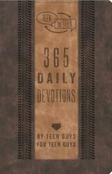 Teen to Teen: 365 Daily Devotions by Teen Guys for Teen Guys (ISBN: 9781433687839)