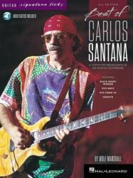 BEST OF CARLOS SANTANA - SIGNA - Wolf Marshall, Carlos Santana (ISBN: 9781495082245)
