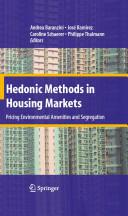 Hedonic Methods in Housing Markets (2008)