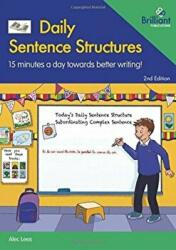 Daily Sentence Structures (ISBN: 9781783173457)