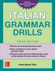 Italian Grammar Drills, Third Edition (ISBN: 9781260116199)