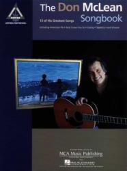 Don McLean Songbook (ISBN: 9780793578856)