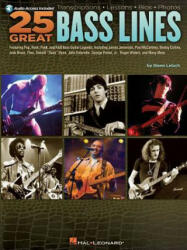 25 Great Bass Lines (ISBN: 9781423460565)