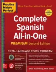 Practice Makes Perfect: Complete Spanish All-In-One, Second Edition (ISBN: 9781260121056)
