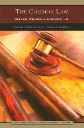 Common Law - Oliver Wendell Holmes (ISBN: 9780760754986)