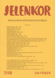 Jelenkor - Irodalmi és művészeti folyóirat - 2018. október (ISBN: 2050000064593)