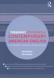 Frequency Dictionary of Contemporary American English - Mark Davies (2010)