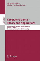 Computer Science - 6th International Computer Science Symposium in Russia, CSR 2011, St. Petersburg, Russia, June 14-18, 2011. Proceedings (2011)
