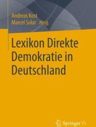 Lexikon Direkte Demokratie in Deutschland (ISBN: 9783658217822)
