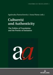 Culture(s) and Authenticity (ISBN: 9783631732397)