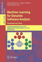 Machine Learning for Dynamic Software Analysis: Potentials and Limits (ISBN: 9783319965611)