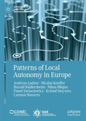 Patterns of Local Autonomy in Europe (ISBN: 9783319956411)