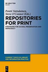Repositories for Print (ISBN: 9783110533248)