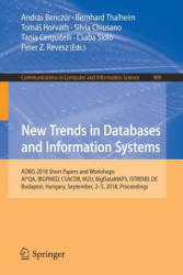 New Trends in Databases and Information Systems - ADBIS 2018 Short Papers and Workshops, AI*QA, BIGPMED, CSACDB, M2U, BigDataMAPS, ISTREND, DC, Budap (ISBN: 9783030000622)